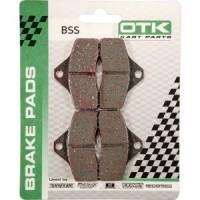 Комплект передних тормозных колодок OTK BSS 4шт.