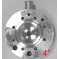 Головка цилиндра TM KZ 4 градуса