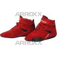 Ботинки Arroxx замша размер 32 красные