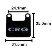 Комплект тормозных колодок CRG Puffo 2шт.