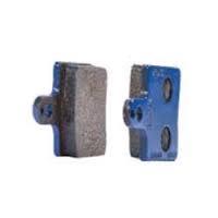 Комплект тормозных колодок CRG детских VEN05/VEN09 передних взрослых 2шт. синих