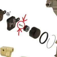 Болт крепления магнита OTK SA2 4х14мм