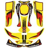 Дизайн Wildkart желтый