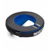 Защита шеи SPARCO ROUND (картинг), синий/черный